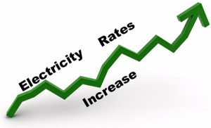 Electricity Prices are Increasing