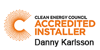 Clean Energy Accredited Installer - Danny Karlsson